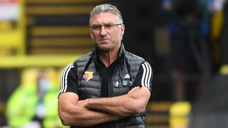 Nigel Pearson's Watford are four points above the bottom three