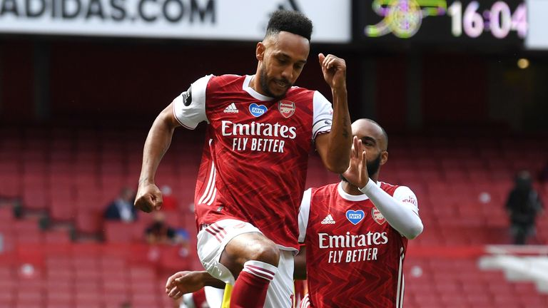 Pierre-Emerick Aubameyang has been in impressive recent form