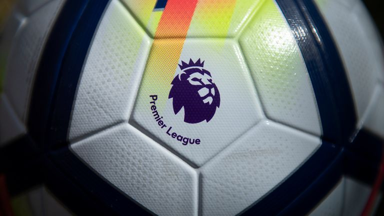 MANCHESTER, ENGLAND - APRIL 27: An official Nike Premier League match ball on April 27, 2020 in Manchester, England (Photo by Visionhaus)