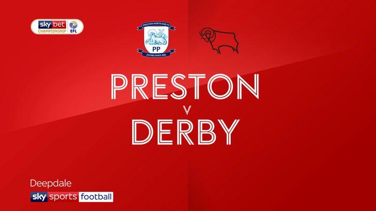 Preston v Derby badge