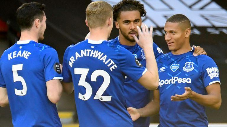 Richarlison put Everton ahead