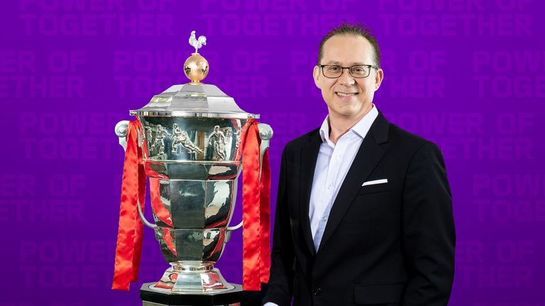 Rugby League World Cup 2021 chief executive Jon Dutton remains upbeat about the tournament