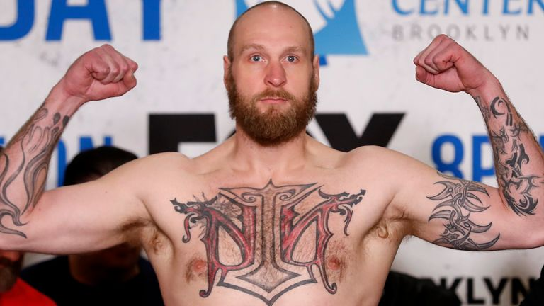 Robert Helenius is one victory away from a world heavyweight title fight
