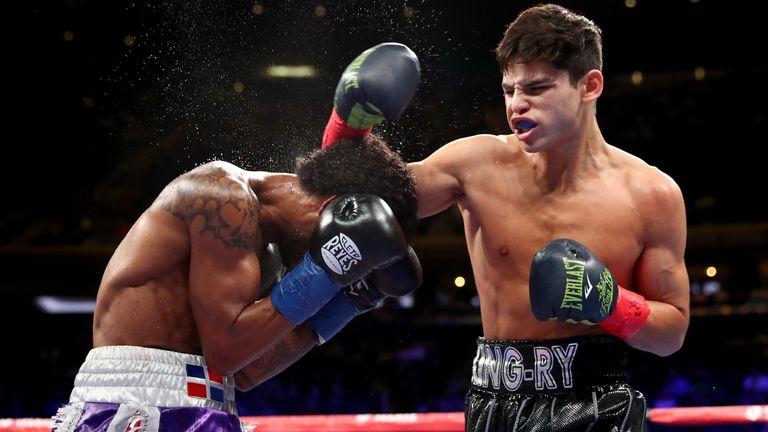 Garcia is unbeaten in 20 fights