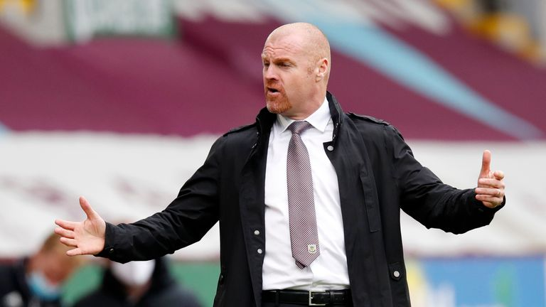 Sean Dyche has yet to add to his squad this summer