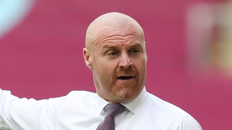 Sean Dyche is hoping player's contracts are dealt with sooner rather than later this summer