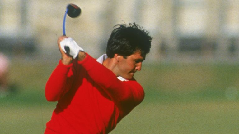 Seve Ballesteros leads after round one