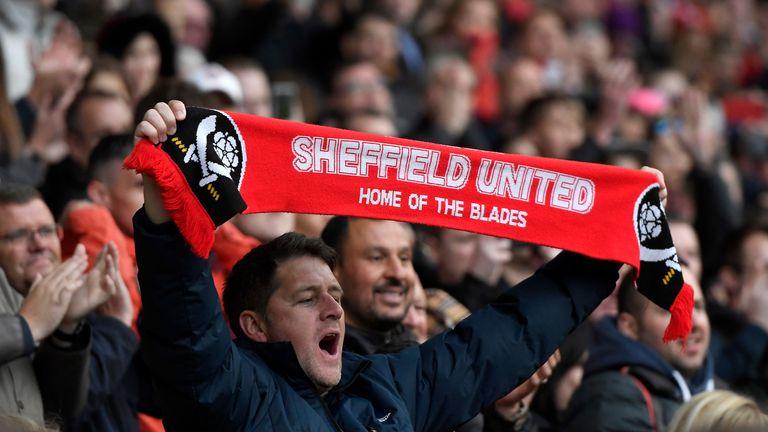 Sheffield United fans at Bramall Lane