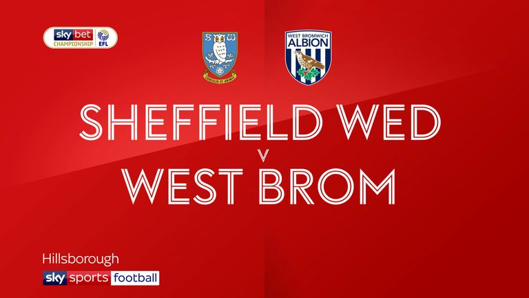 Sheffield wednesday v west brom