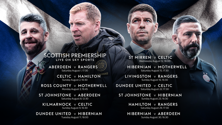 Scottish Premiership Fixtures 2020 21 New Season On Sky Sports Football News Sky Sports