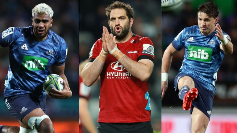 Hoskins Sotutu, Sam Whitelock, Beauden Barrett and more - Saturday's Crusaders vs Blues clash is packed with quality players