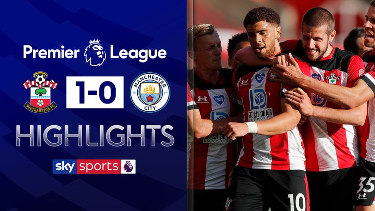 Highlights from Southampton and Man City