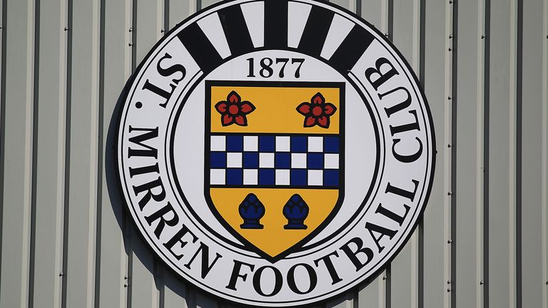 Seven members of St Mirren's coaching staff returned positive tests on Thursday