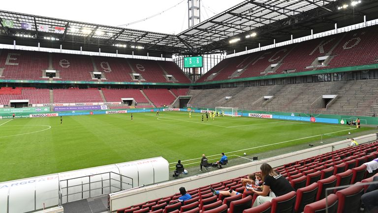 The Europa League final will be played at RheinEnergieStadion in Cologne