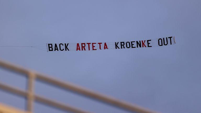 Stan Kroenke banner