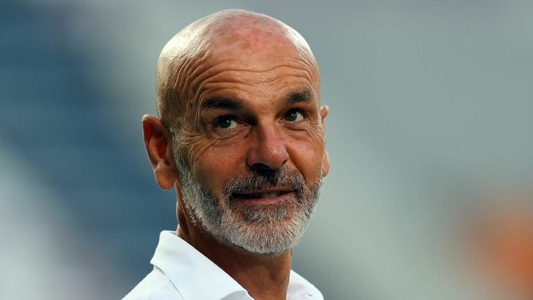 Ac Milan Stefano Pioli Signs New Two Year Deal To Remain Head Coach Football News Sky Sports