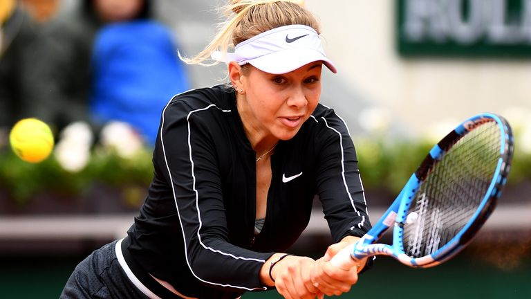 Anisimova's two-handed backhand is arguably her most potent weapon