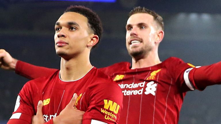 Alexander-Arnold scored four goals and provided 13 assists in the Premier League last season
