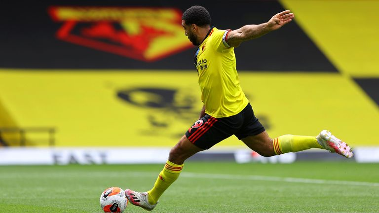 Deeney fires in a second second-half penalty to complete the turnaround