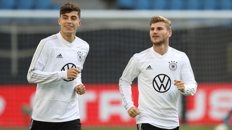 Timo Werner's Germany team-mate Kai Havertz could join him in London