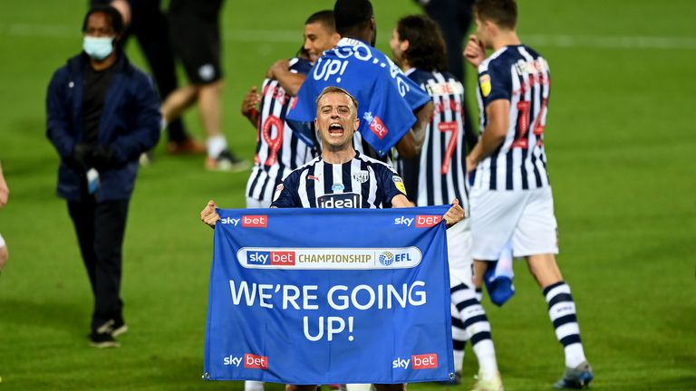 West Brom 2 2 Qpr Baggies Secure Premier League Promotion Football News Sky Sports