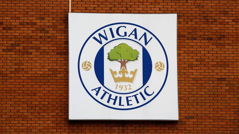 WIGAN, ENGLAND - SEPTEMBER 22: xxxxx of Wigan xxxx xxxxx of Ipswich during the Sky Bet Championship match between Wigan Athletic and Ipswich Town at the DW Stadium on September 22, 2013 in Wigan, England. (Photo by Paul Thomas/Getty Images) *** Local caption *** xxxxxx