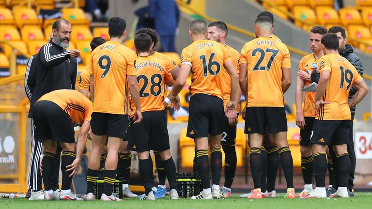 Wolves won all three games in June following the Premier League restart