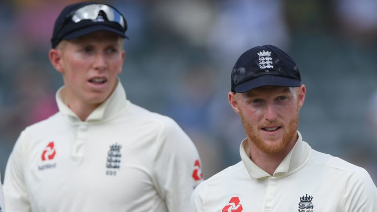 Zak Crawley and Ben Stokes