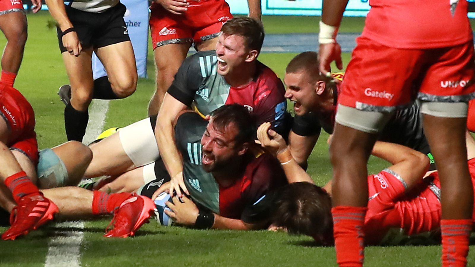 Harlequins 16-10 Sale: Quins beat Sharks in Gallagher Premiership restart |  Rugby Union News | Sky Sports