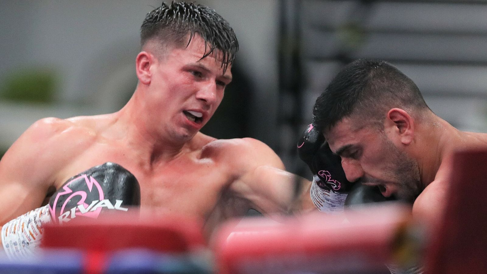 Cash vs Welborn: Kieron Conway completes wide points victory over Nav Mansouri at 'Fight Camp'