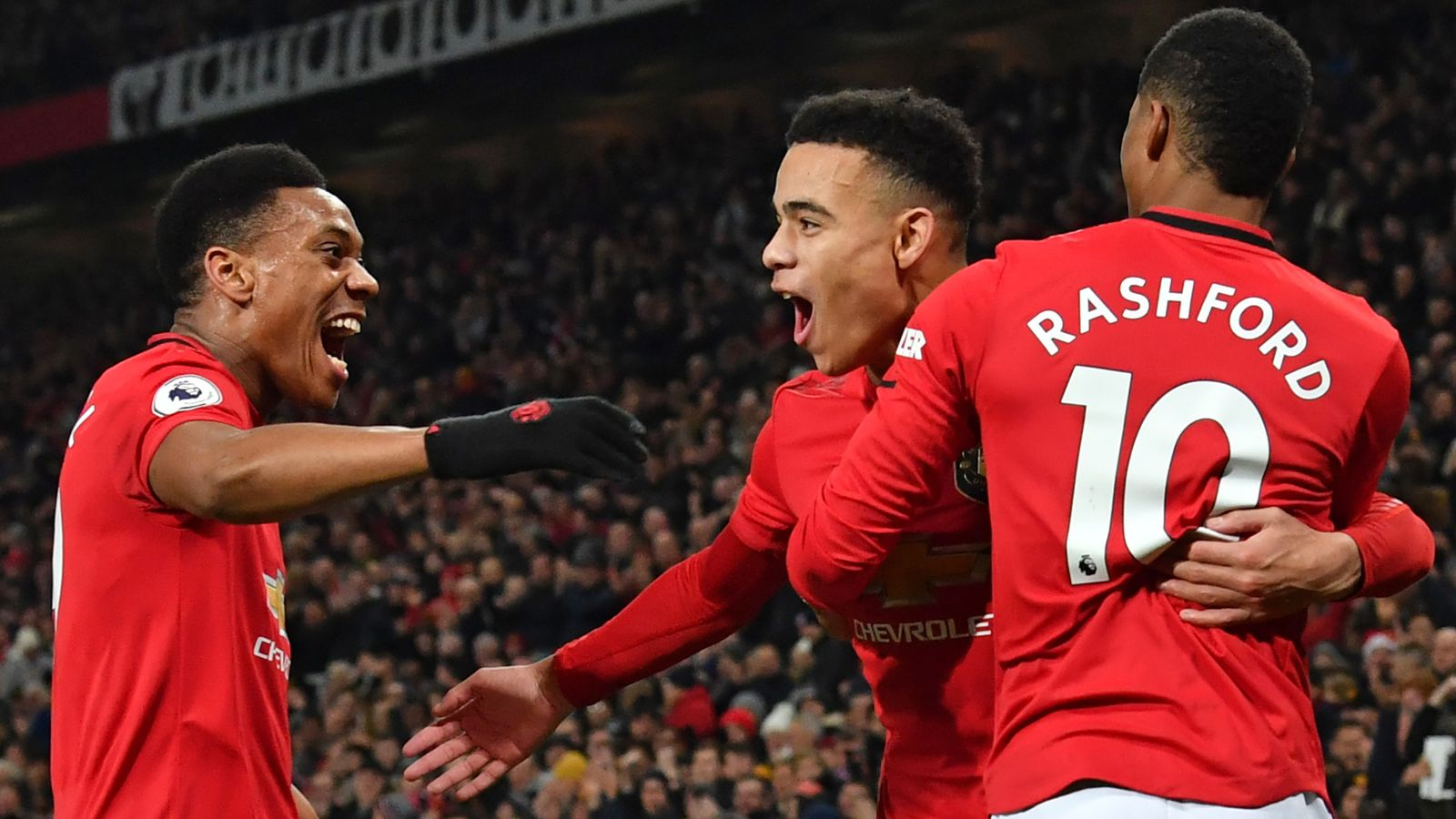 Marcus Rashford, Anthony Martial and Mason Greenwood lead Young Player of the Season nominations