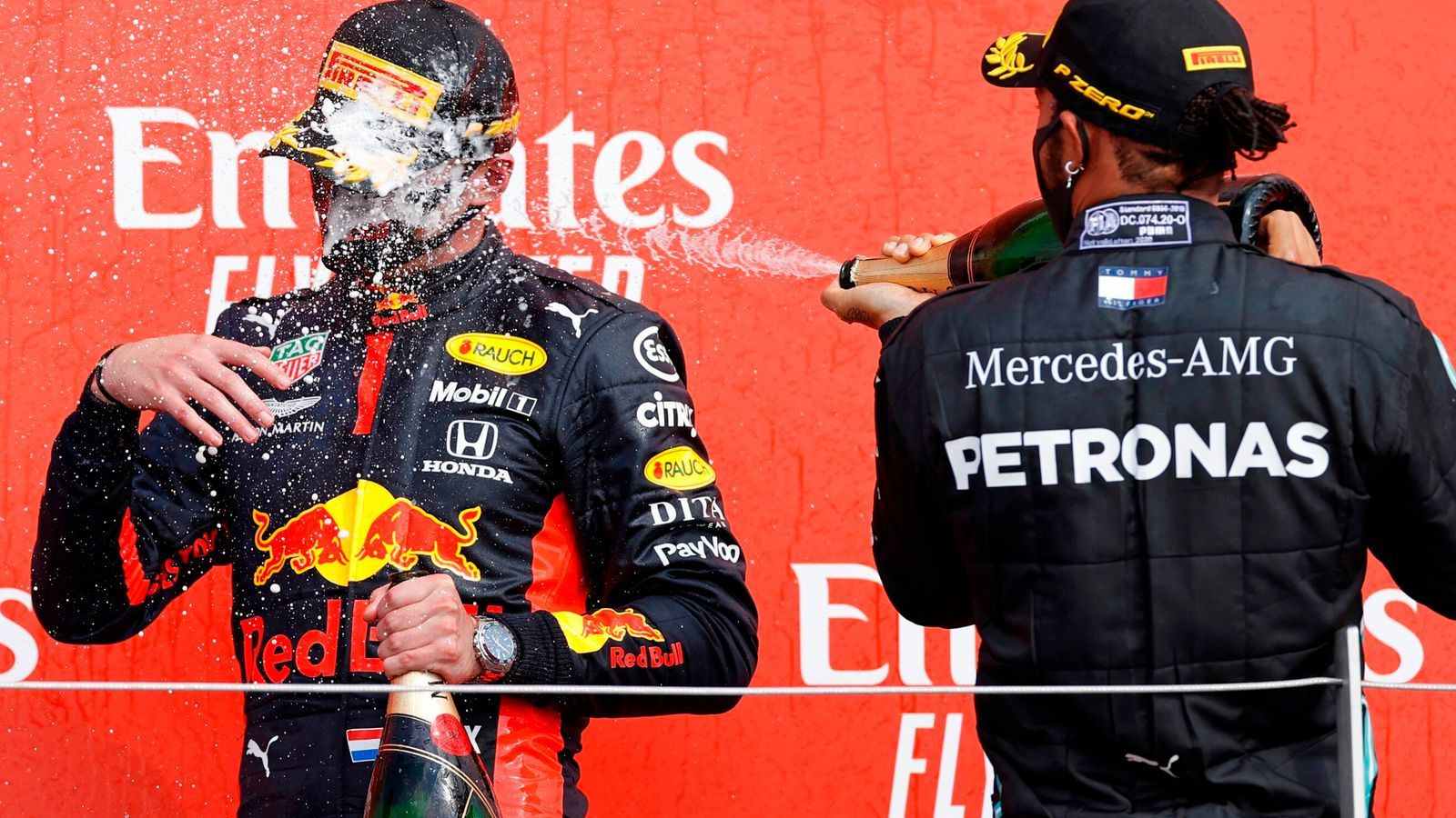 Max Verstappen on 'driving like a grandma' message after F1 Anniversary GP triumph