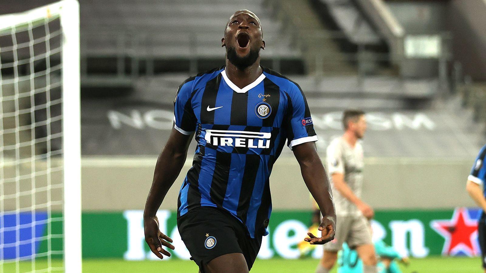Inter Milan 5-0 Shakhtar Donetsk: Romelu Lukaku scores twice as Antonio  Conte's side reach Europa League final | Football News