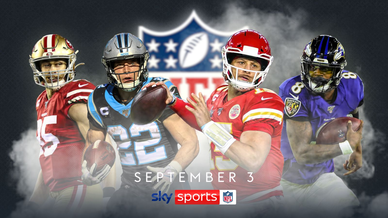 NFL and Sky Sports unveil 'Sky Sports NFL' as part of five-year partnership