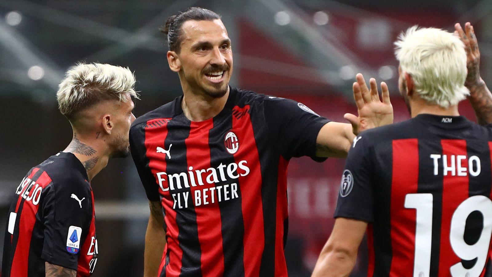 Zlatan Ibrahimovic Ac Milan Striker Nearing New Deal For 2020 21 Season Football News Sky Sports