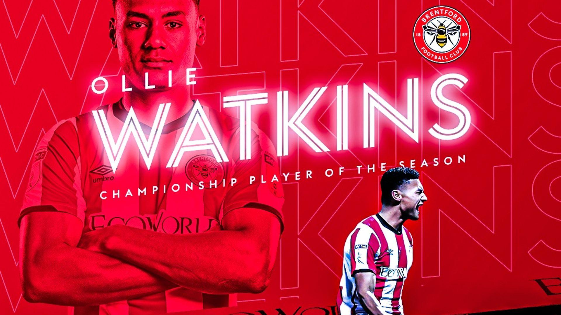 Watkins, Bellingham win EFL awards