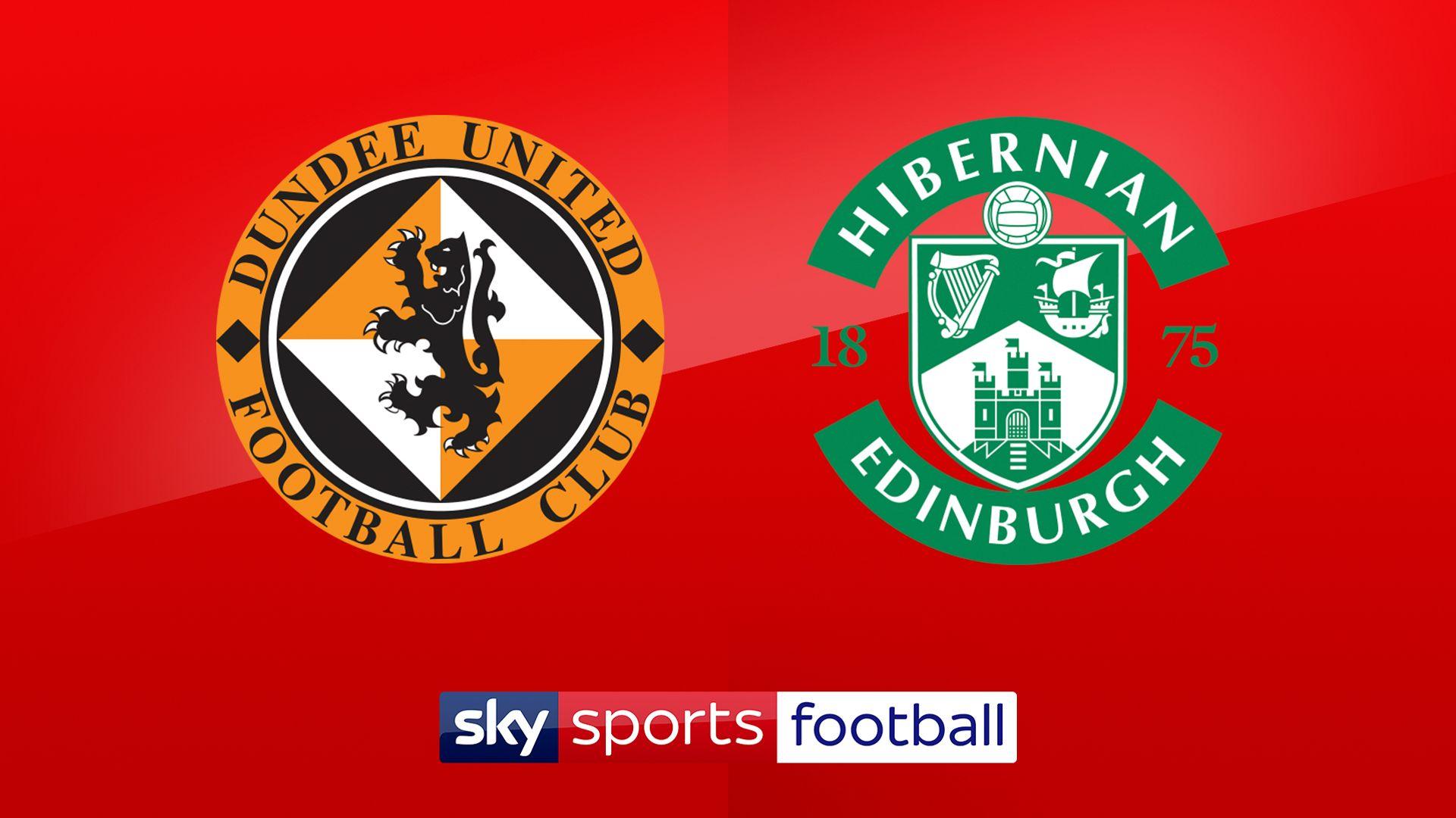 Dundee United vs Hibernian LIVE!