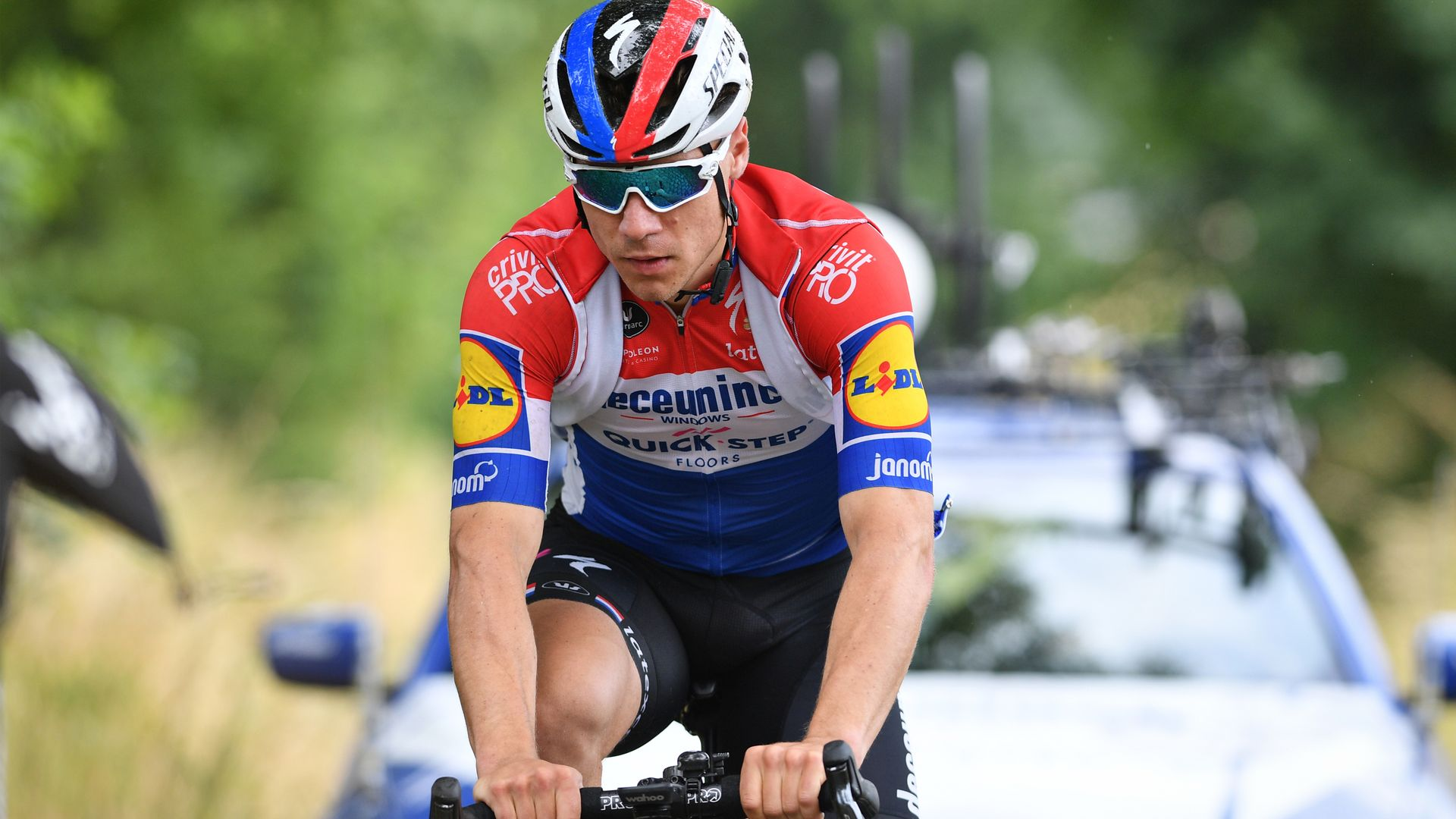 Jakobsen in 'good' condition after being woken from coma