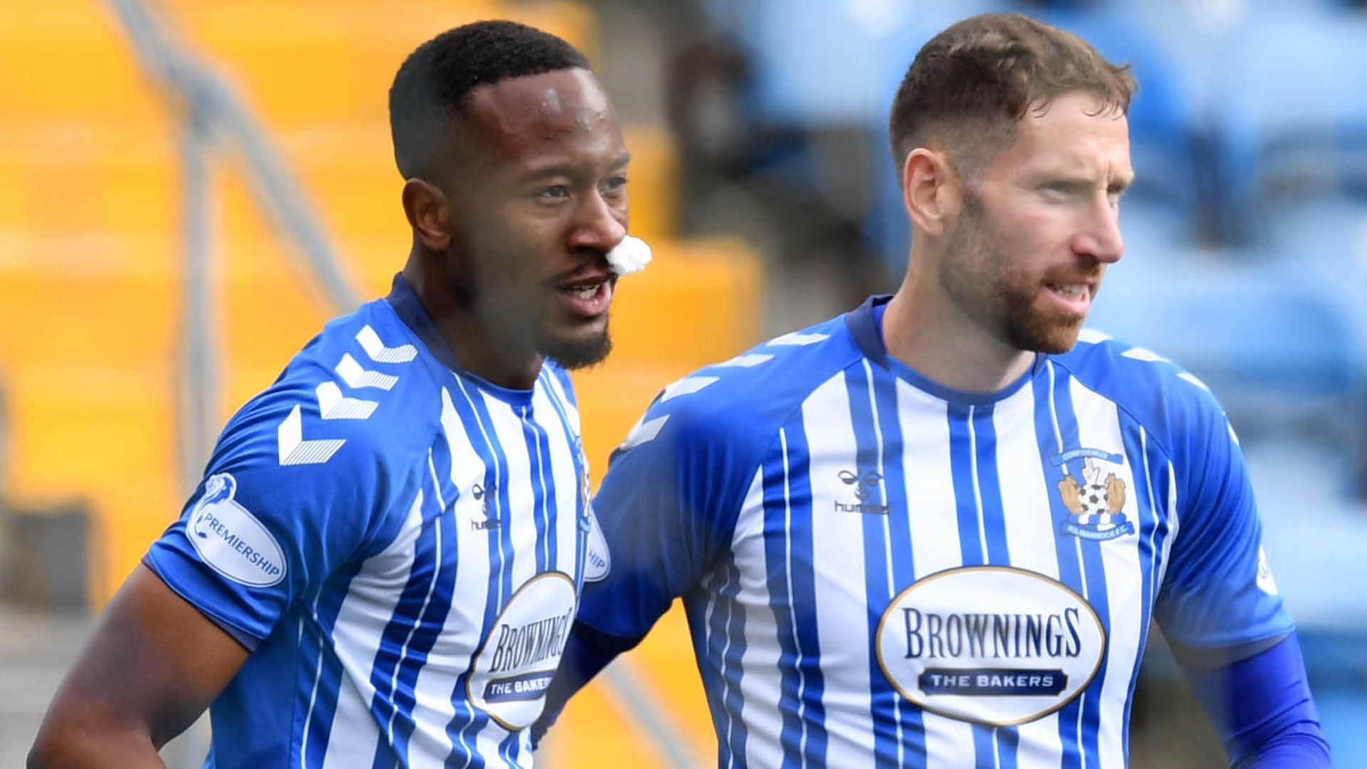 Kabamba double helps Killie to first win