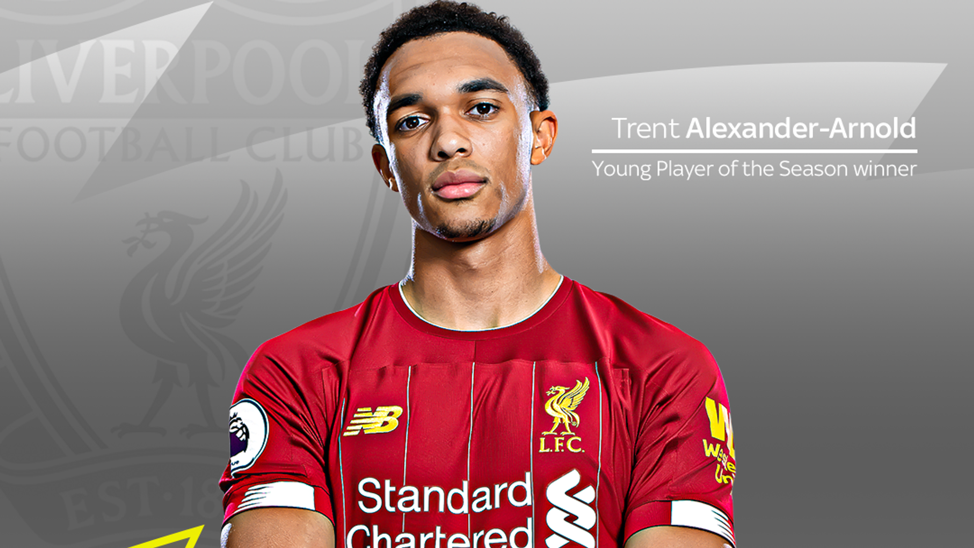 TAA wins PL Young Player of the Season