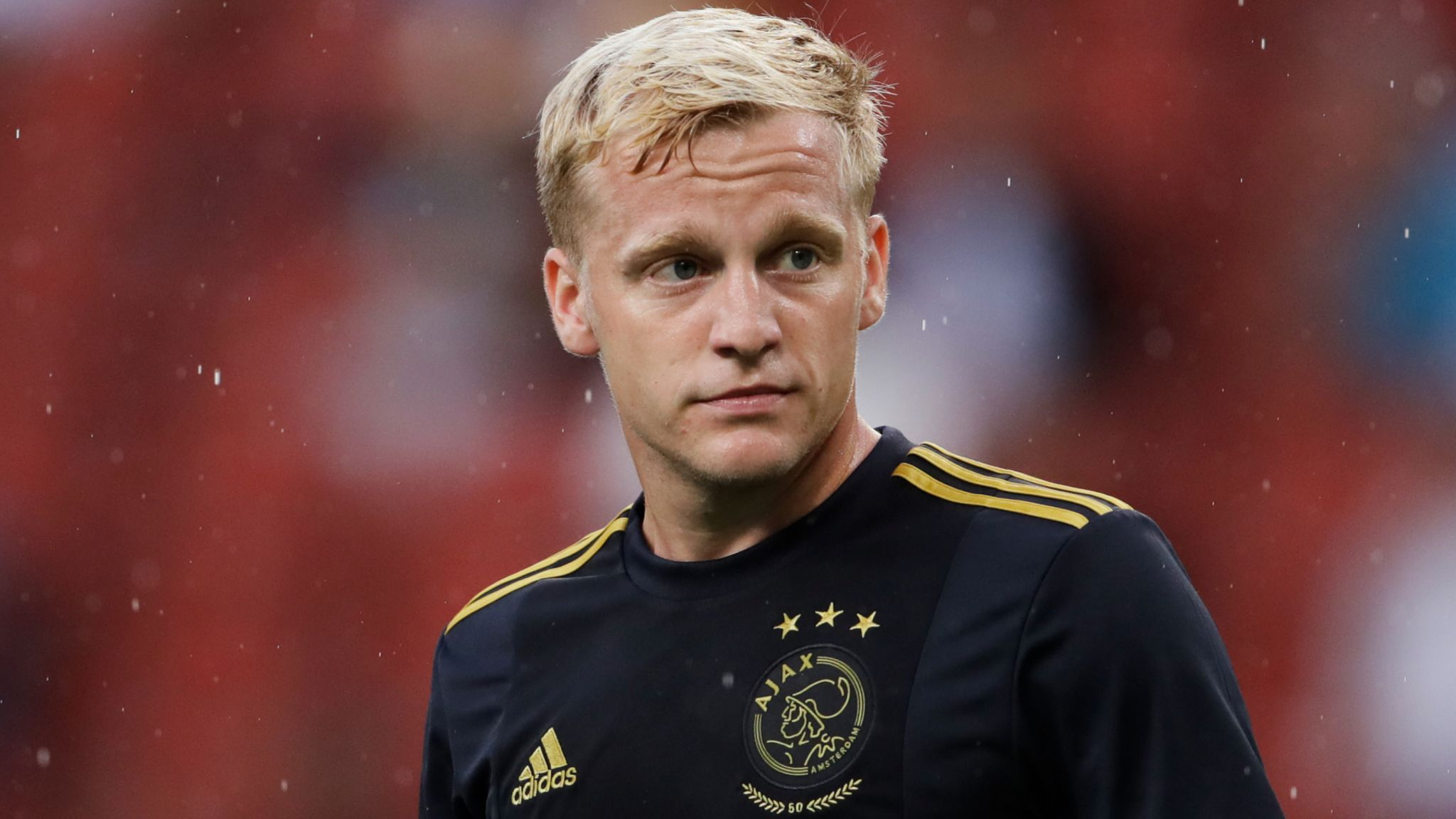 Manchester United Monitoring As Donny Van De Beek Is Left Out Of Ajax Squad Football News Sky Sports