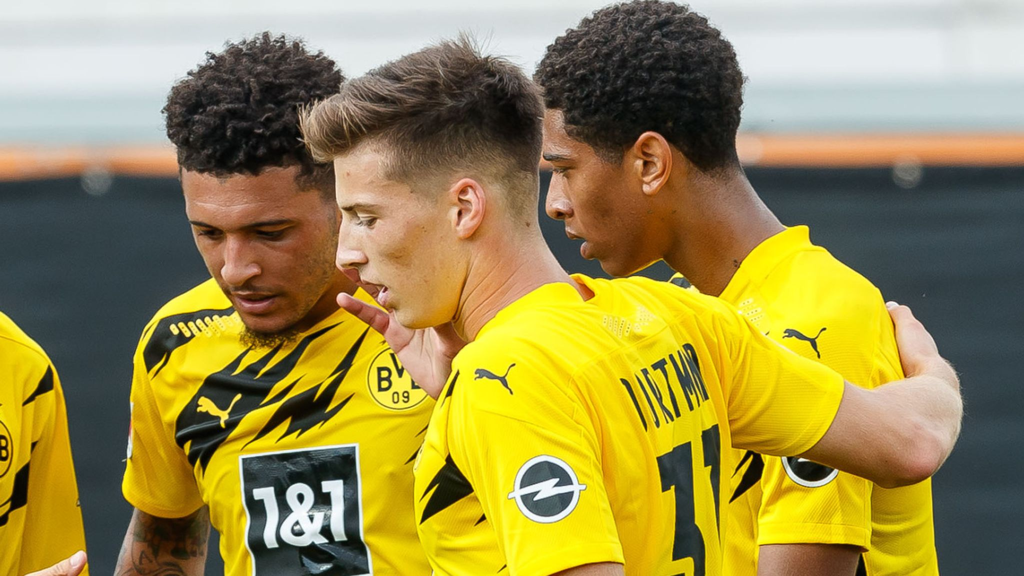 Jude Bellingham And Jadon Sancho Impress In Youthful Borussia Dortmund Pre season Football News Sky Sports