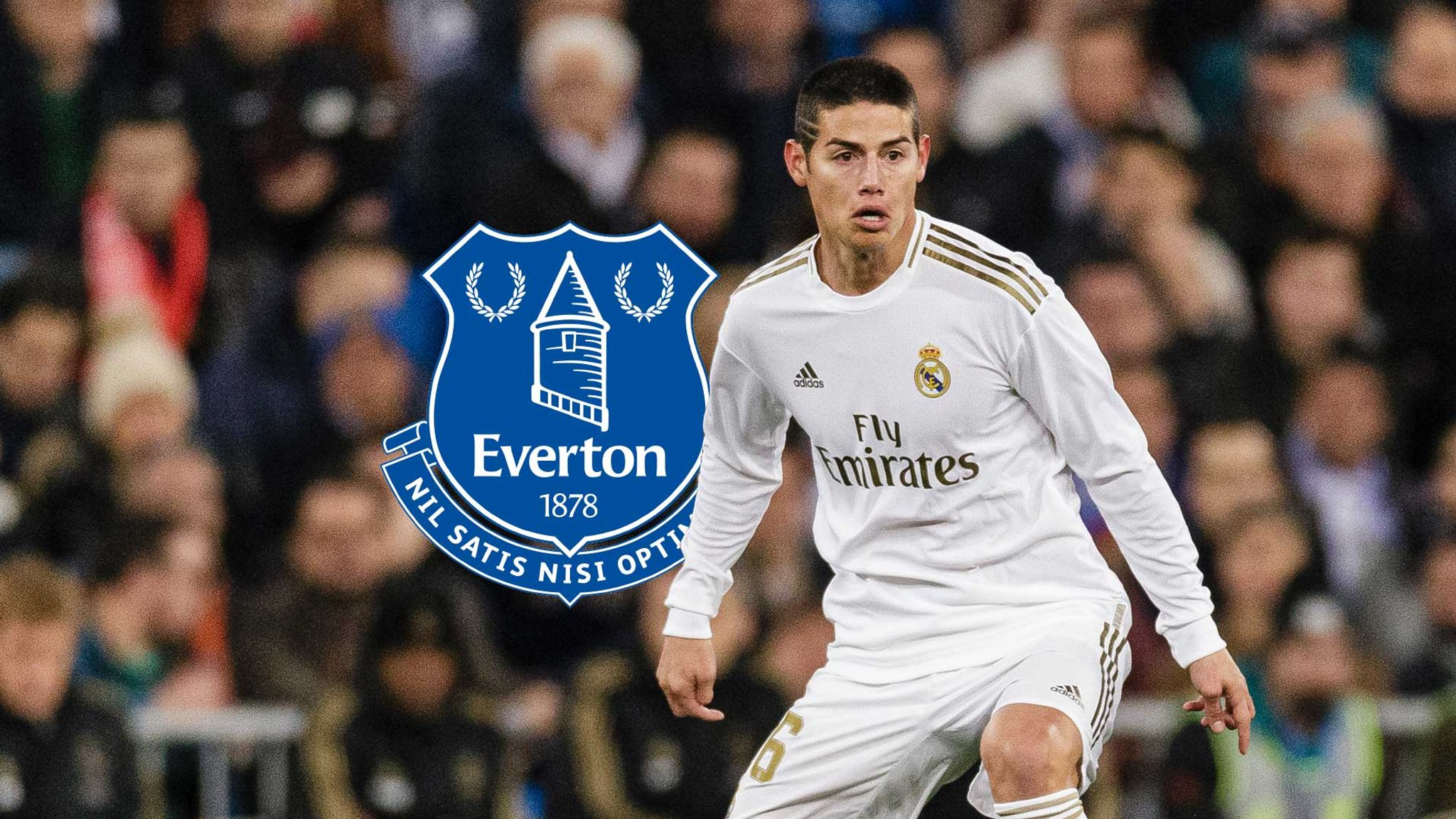James Rodriguez The Curious Case Of Real Madrid Forward On Course For Everton Football News Sky Sports