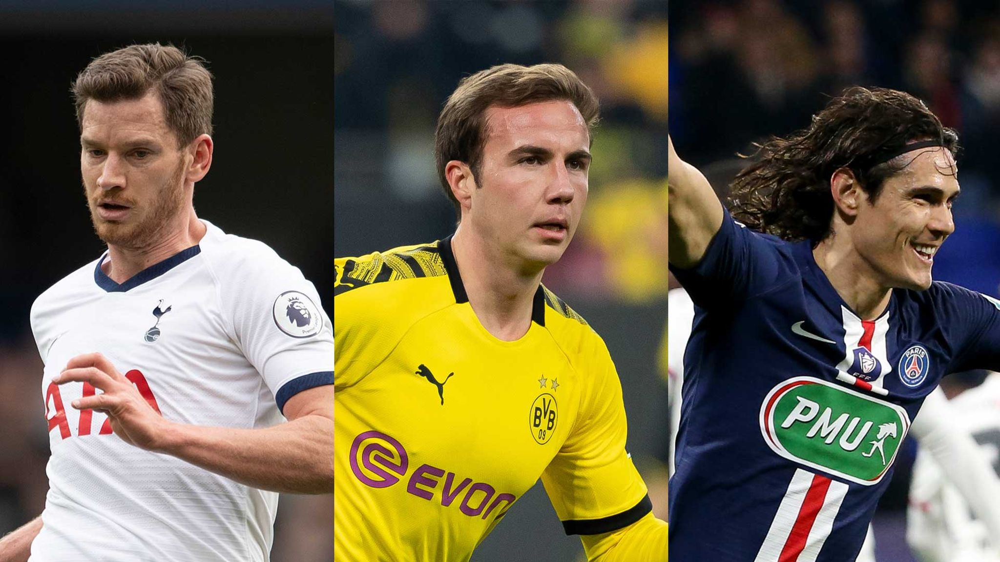 Out Of Contract Xi Willian David Silva Mario Gotze And Edinson Cavani Star Football News Sky Sports