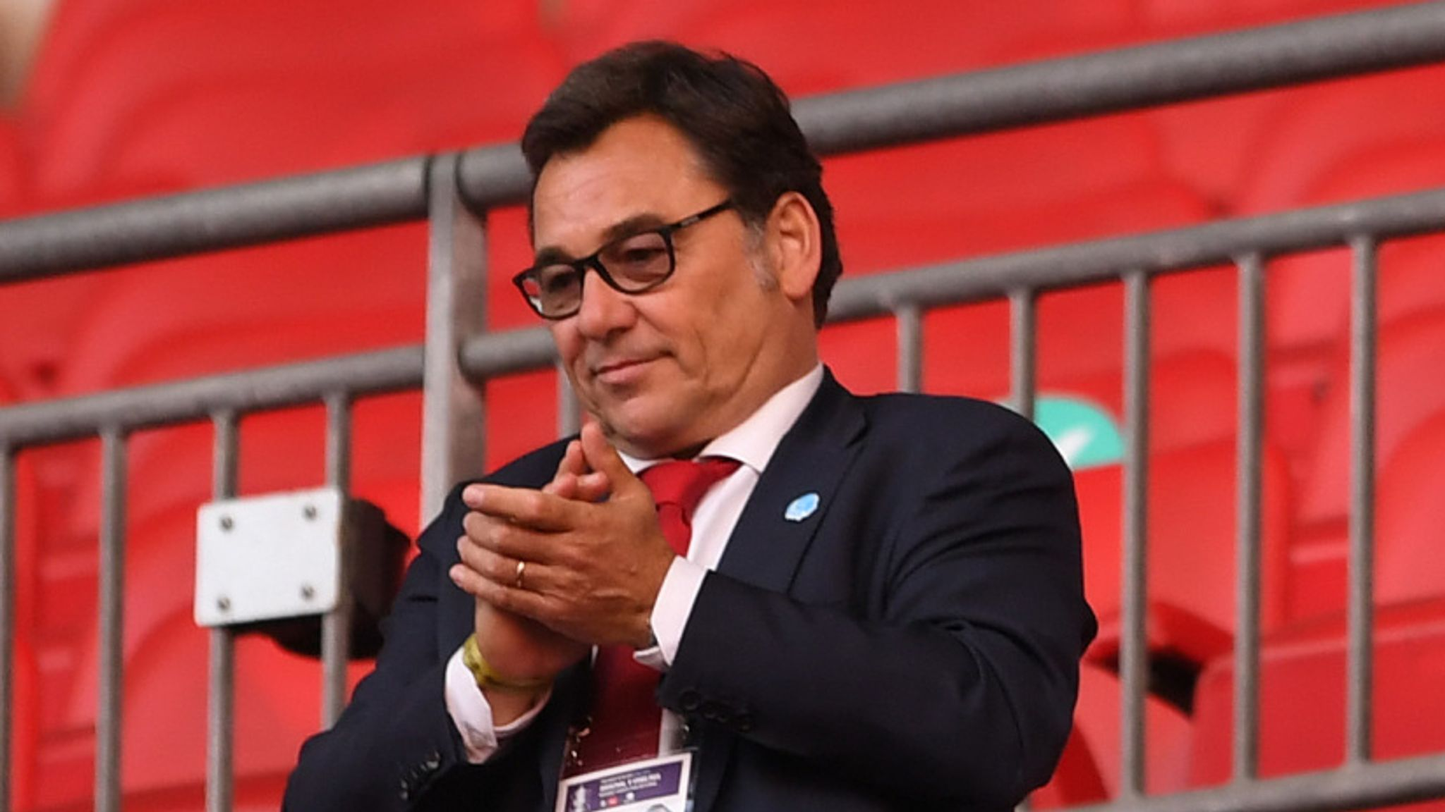 Raul Sanllehi: Arsenal head of football leaves club, replaced by ...