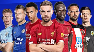 Liverpool trio lead PL Player of the Season shortlist