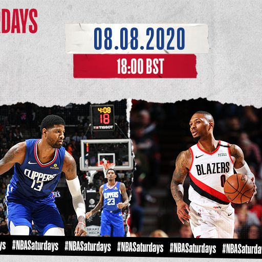 Clippers @ Blazers free on Sky Sports