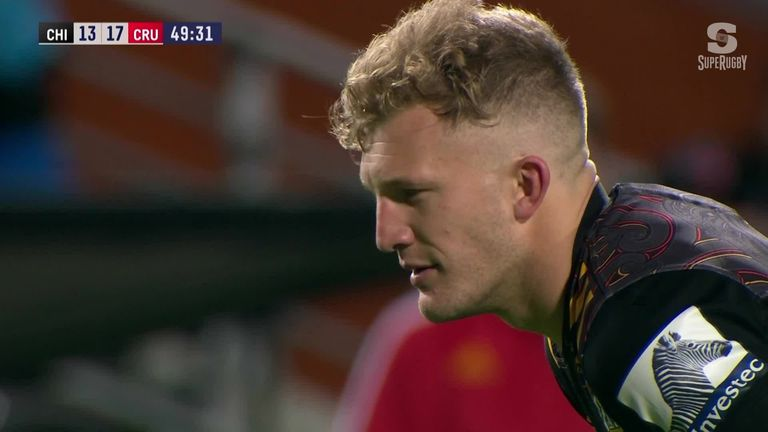 The Crusaders beat a gallant yet still-winless Chiefs side 32-19 on Saturday