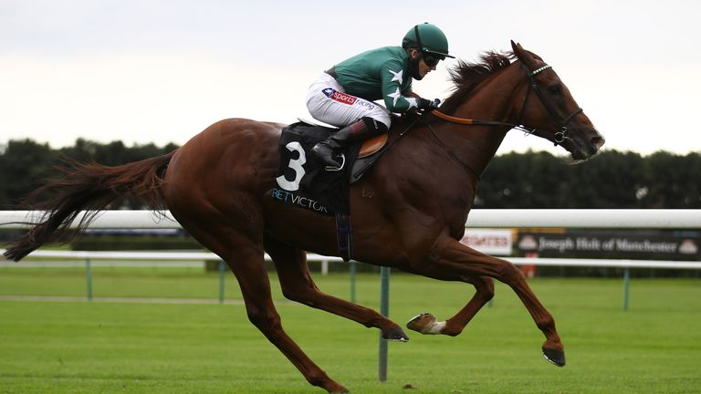 Extra Elusive ridden by Hollie Doyle wins The BetVictor Rose Of Lancaster Stakes