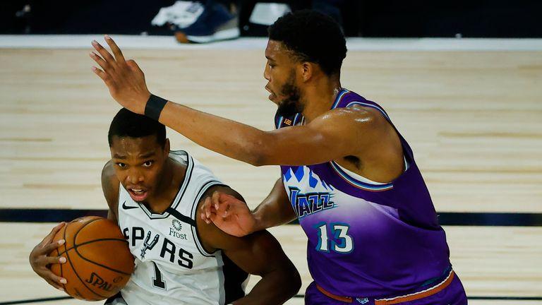 Utah Jazz up against the San Antonio Spurs
